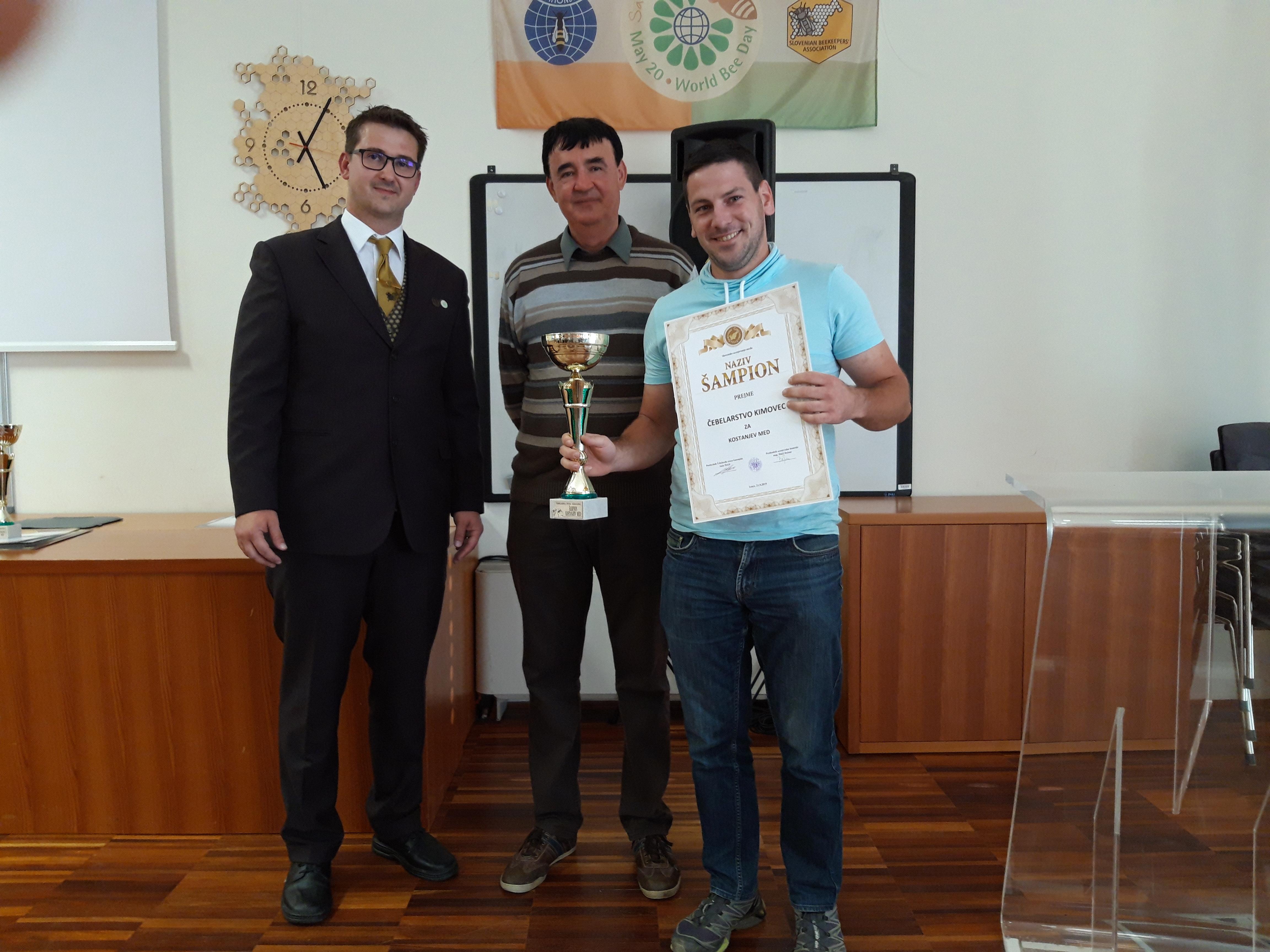 Šampion  Slovenskega senzoričnega ocenjevanja medu na Gorenjskem